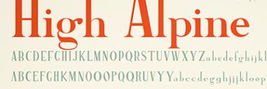 Fonts & Typeface Design