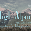 HighAlpine sampled on a photo of North Cascades mountains